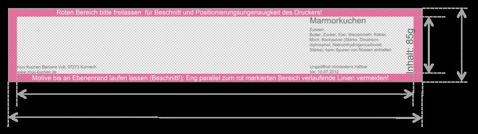 Banderole Drehdeckelglas