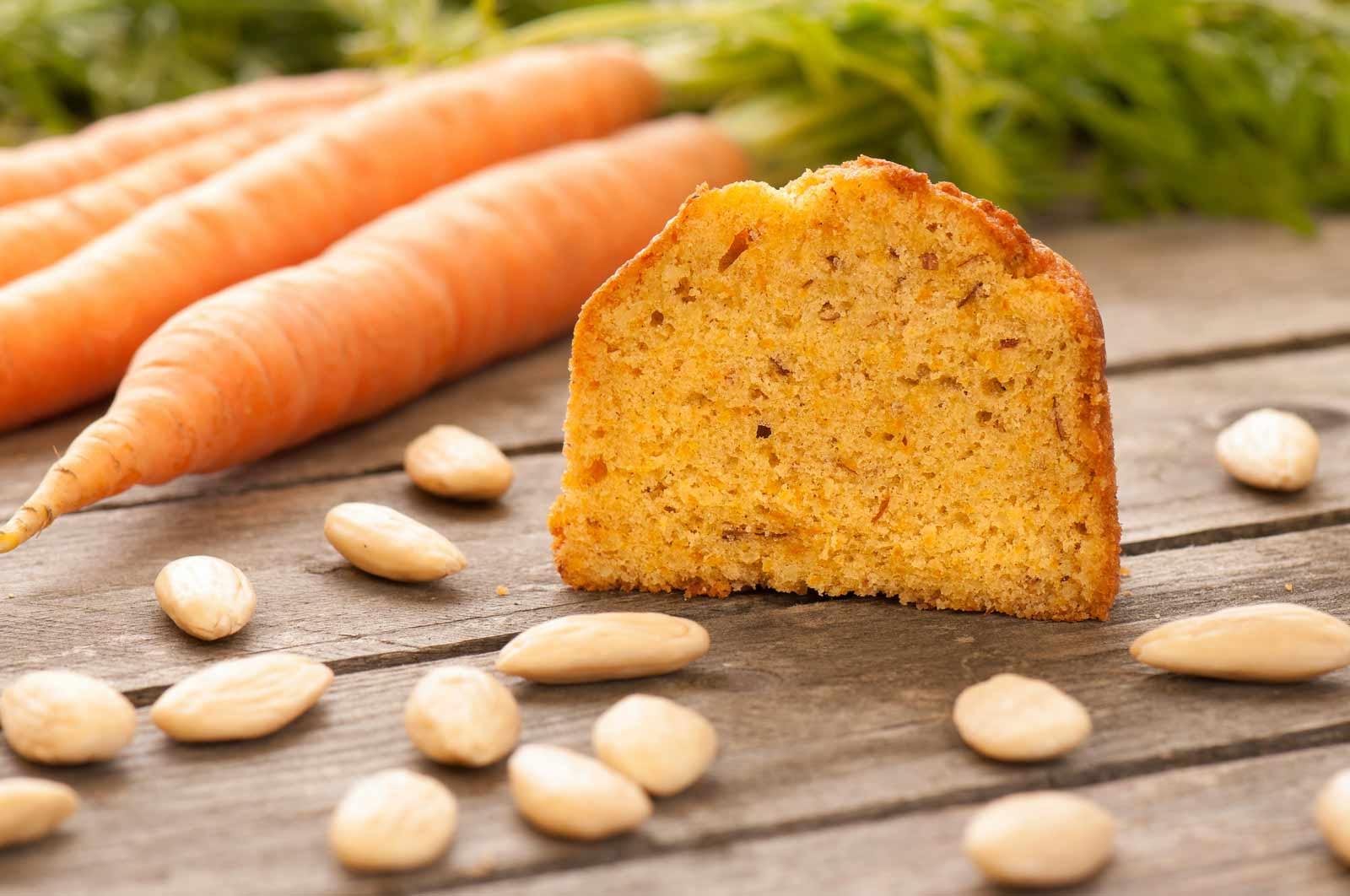 Mandel Karotte Kuchen im Glas