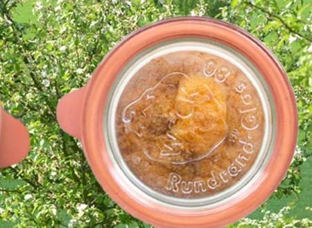 Kuchen im Weckglas
