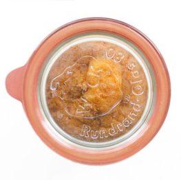 Zitronen Kuchen im Weckglas