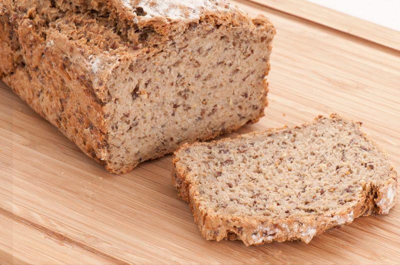 Brot Backmischung im Glas: Ergebnis