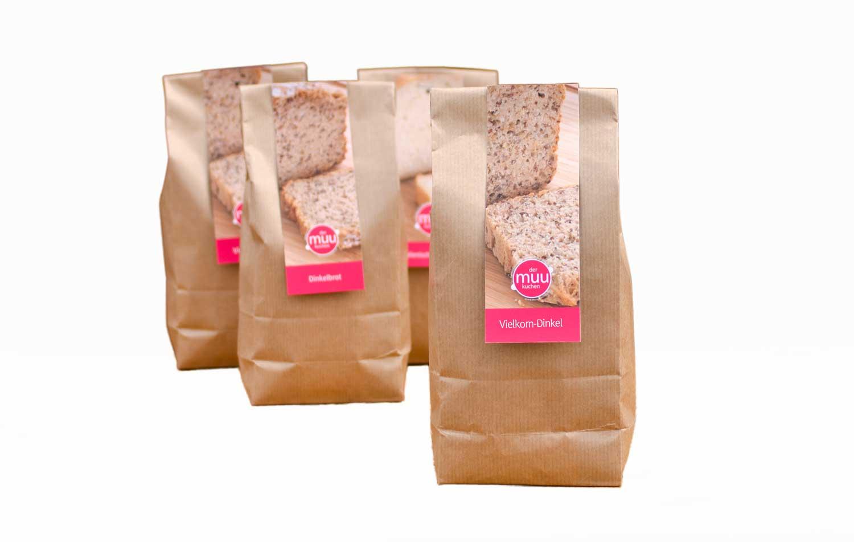Brot Backmischung Vielkorn-Dinkel