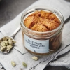 Veganer Kardamom-Zimt Kuchen im Glas